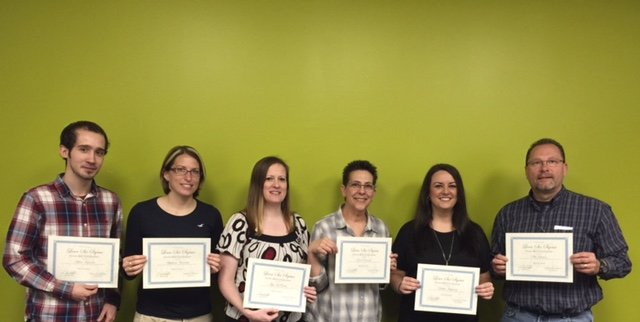 Cubbison Employees Receive Lean Six Sigma Green Belt Certification
