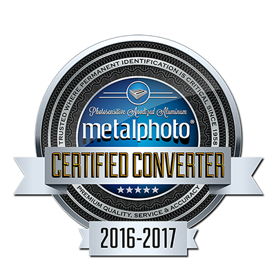 Cubbison Earns Certified Metalphoto Converter Designation